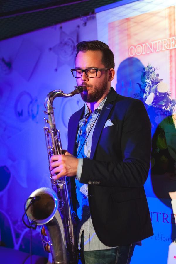 Saksofonist Indrek Varend