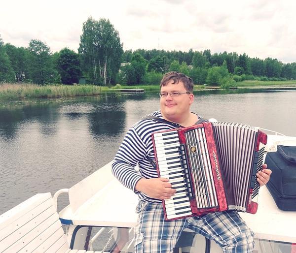 Akordionist Vladimir Karjalainen
